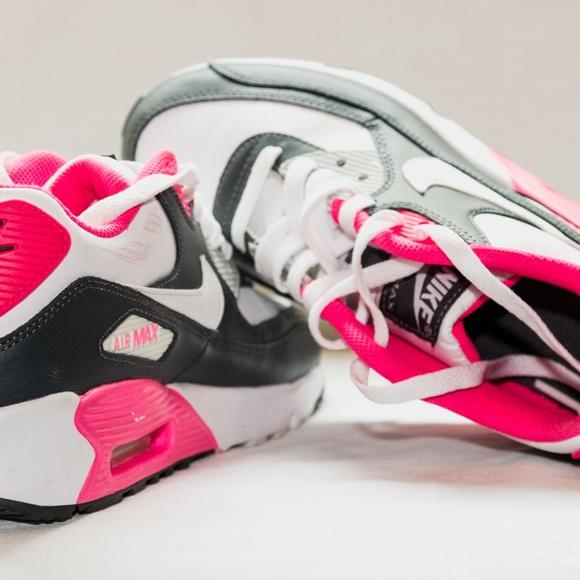 b8655922da NIKE Air Max 90 LTR (GS) youth shoes anthracite/wh.  M_5abac3933a112e8d295164fb